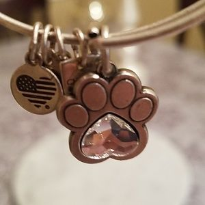 Alex and Ani Paw Prints of Love 2 Energy Bracelet